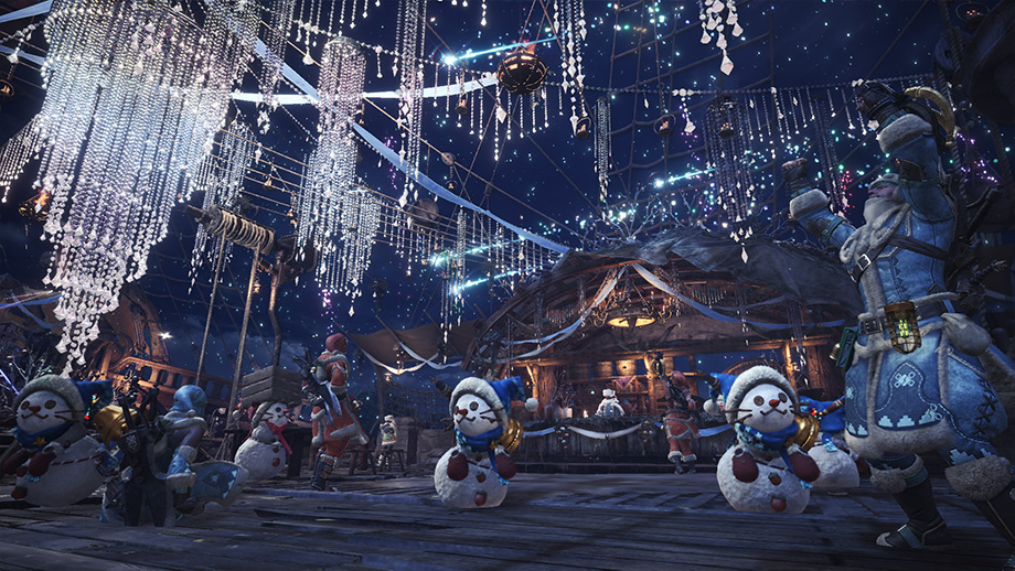 El Festival de la Estrella de Invierno llego a Monster Hunter World!!!